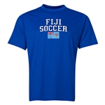 Fiji Soccer Training T-Shirt (Royal)