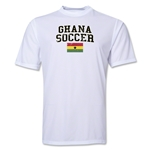 Ghana Soccer Training T-Shirt (White)