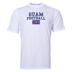 Guam Football Training T-Shirt (White)