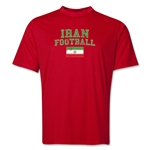 Iran Football Training T-Shirt (Red)