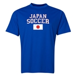 Japan Soccer Training T-Shirt (Royal)