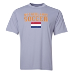 Netherlands Soccer Training T-Shirt (Grey)