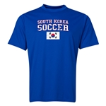 South Korea Soccer Training T-Shirt (Royal)