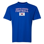 South Korea Football Training T-Shirt (Royal)