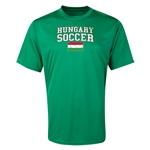 Hungary Soccer Training T-Shirt (Green)