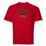 Kenya Football Training T-Shirt (Red)