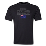 New Zealand Football Training T-Shirt (Black)