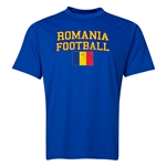 Romania Football Training T-Shirt (Royal)