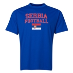 Serbia Football Training T-Shirt (Royal)