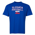 Slovakia Football Training T-Shirt (Royal)