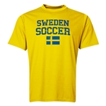 Sweden Soccer Training T-Shirt (Yellow)