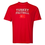 Turkey Football Training T-Shirt (Red)