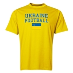 Ukraine Football Training T-Shirt (Yellow)