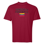 Venezuela Football Training T-Shirt (Maroon)