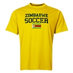 Zimbabwe Soccer Training T-Shirt (Yellow)