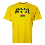 Zimbabwe Football Training T-Shirt (Yellow)