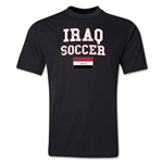 Iraq Soccer Training T-Shirt (Black)