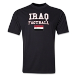 Iraq Football Training T-Shirt (Black)