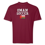 Oman Soccer Training T-Shirt (Maroon)