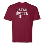 Qatar Soccer Training T-Shirt (Maroon)