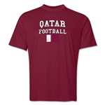 Qatar Football Training T-Shirt (Maroon)