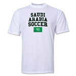 Saudi Arabia Soccer Training T-Shirt (White)