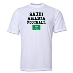 Saudi Arabia Football Training T-Shirt (White)