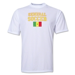 Senegal Soccer Training T-Shirt (White)