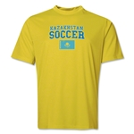 Kazakhstan Soccer Training T-Shirt (Yellow)