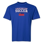 Liechtenstein Soccer Training T-Shirt (Royal)