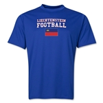 Liechtenstein Football Training T-Shirt (Royal)