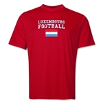 Luxembourg Football Training T-Shirt (Red)