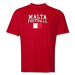 Malta Football Training T-Shirt (Red)