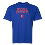 Nepal Football Training T-Shirt (Royal)