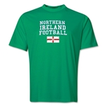 Northern Ireland Football Training T-Shirt (Green)