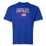 Puerto Rico Football Training T-Shirt (Royal)