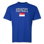 Singapore Football Training T-Shirt (Royal)