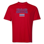 Thailand Soccer Training T-Shirt (Red)
