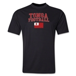 Tonga Football Training T-Shirt (Black)
