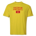 Vietnam Football Training T-Shirt (Yellow)
