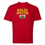 Wales Soccer Training T-Shirt (Red)