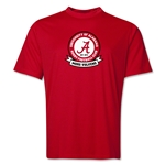 University of Alabama Rugby Performance T-Shirt (Red)