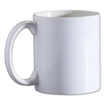 Ceramic Coffee Mug (White)