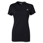 adidas Women's Ultimate Workout Crew T-Shirt (Black)