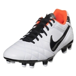 Nike Tiempo Natural IV LTR FG (Black/Electric Green/White)