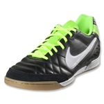 Nike Tiempo Natural IV LTR IC (Black/Electric Green/White)