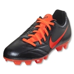 Nike T90 Shoot IV FG Junior (Black/Total Crimson)