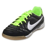 Nike Tiempo Natural IV IC Junior (Black/Electric Green)