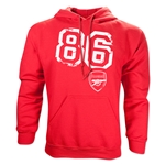 Arsenal 86 Hoody (Red)