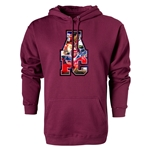 Arsenal AFC Celebration Hoody (Maroon)
